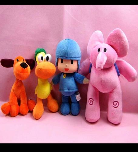 peluches pocoyo y sus amigos
