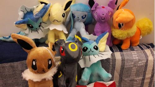 peluches pokemon go picachu y otro personajes evoluciones