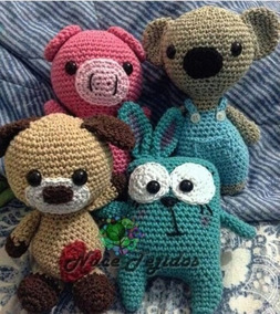 Mano Peluches Tejidos Crochet A Amigurumis mnwvN80O
