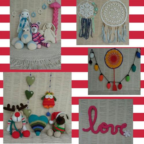 peluches y adornos en crochet a pedido - consultar precios