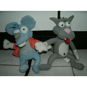 Pélucia - The Simpsons - Itchy And Scratchy - 21 Cm