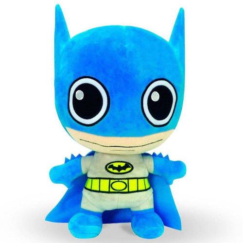pelúcia - 25 cm - dc comics - super fun - batman - dtc