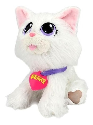 pelucia adota pets gato snow com acessórios multikids br1069