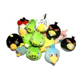 Pelúcia Angry Birds Bomba Amarelo Azul Game Celular Geek