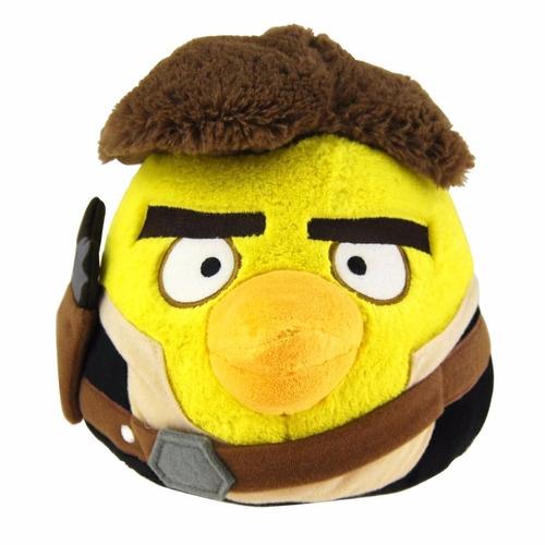 pelúcia angry birds edição star wars dtc han solo 3296 orig