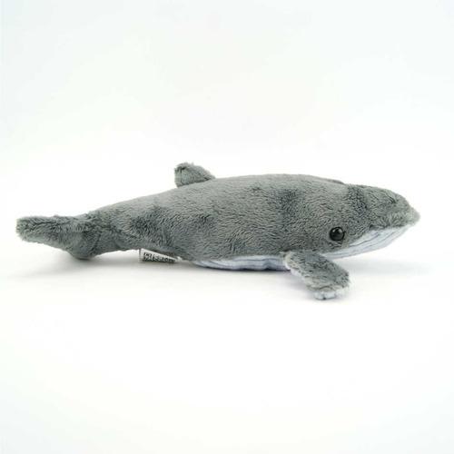 pelúcia baleia national geographic baby oceanos 24cm