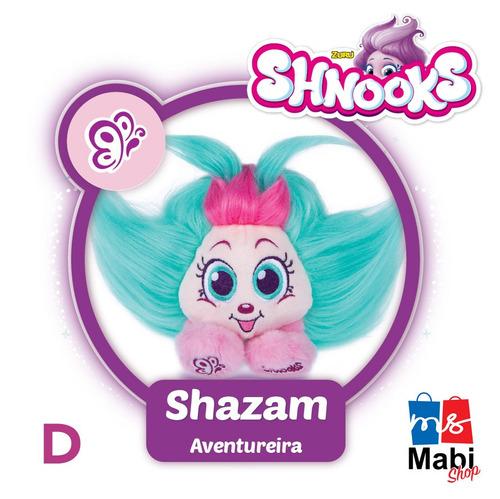 pelúcia bolha shnooks com acessório - dtc