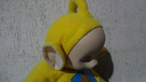pelúcia boneco teletubbies _  lala antiga  _grow