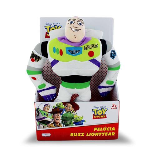 pelúcia buzz lightyear toy story com som br388 multikids