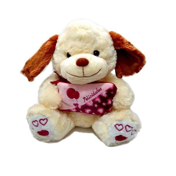pelúcia cachorro fofinho 33 cm sentado fizzy toys r 64 90 em