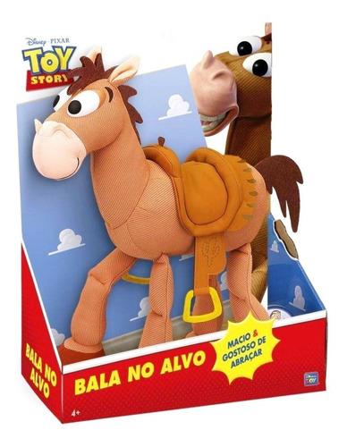 pelúcia cavalo bala no alvo toy story original - disney
