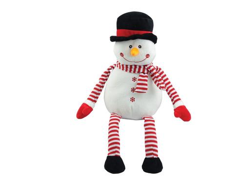 pelúcia de natal  boneco de neve amigo papai noel dtc
