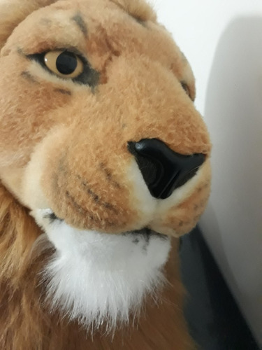 pelúcia grande gigante 160cm rei leão com alta qualidade