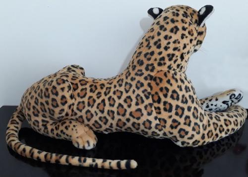 pelúcia grande gigante rei leão 165cm + onça pintada 140cm