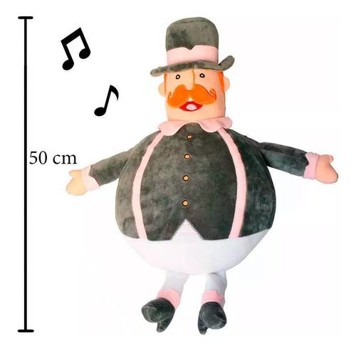 pelúcia mundo bita - bita 50cm
