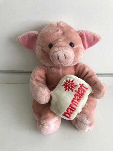 pelúcia parmalat porco
