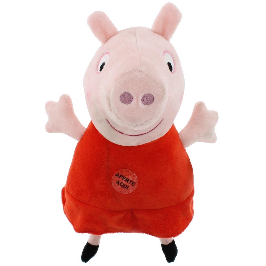 Pelúcia Peppa Pig e Seus Amigos - George