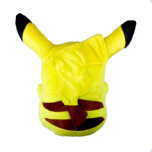 pelúcia pikachu 30cm altura pokémon sun moon
