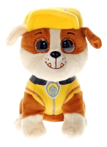 pelúcia rubble patrulha canina 25 cm - ty