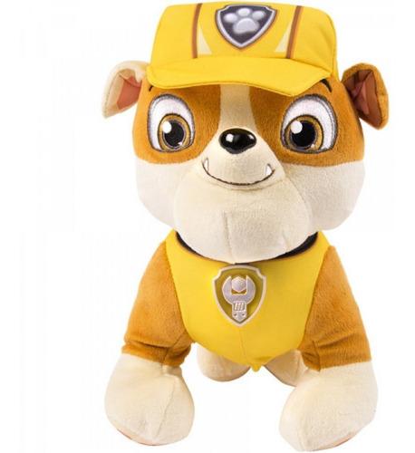 pelucia rubble pelúcia patrulha canina original 30 cm sunny