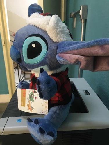 pelucia stitch - disney store- 35 cm - lilo e stitch inverno