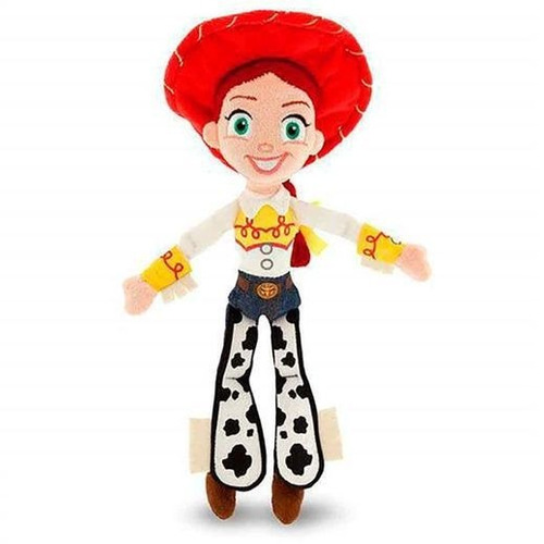 pelúcia toy story jessie com som 30 cm br390 multikids