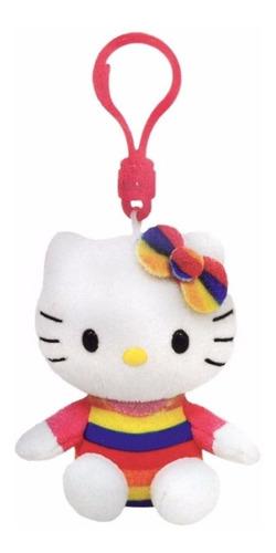 pelucia ty chaveiro hello kitty cupcake clip dtc