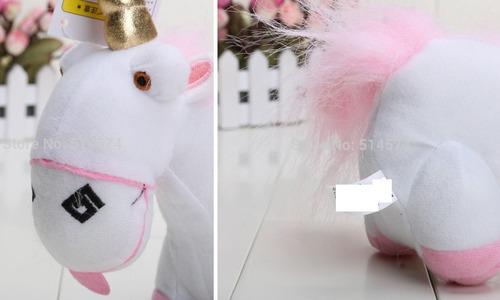 pelucia unicornio 21cm
