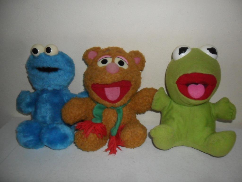 pelúcia urso fozzie caco muppets baby show bebê vila sesamo r 89