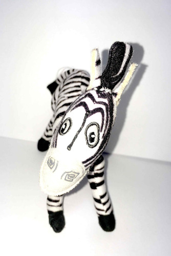 pelúcia zebra marty madagascar filme infantil kids enfeites