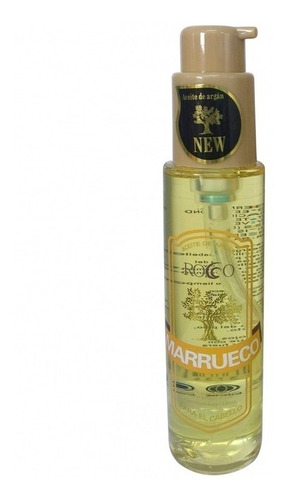 peluquería : aceite de argan rocco 100 ml cuidado cabello