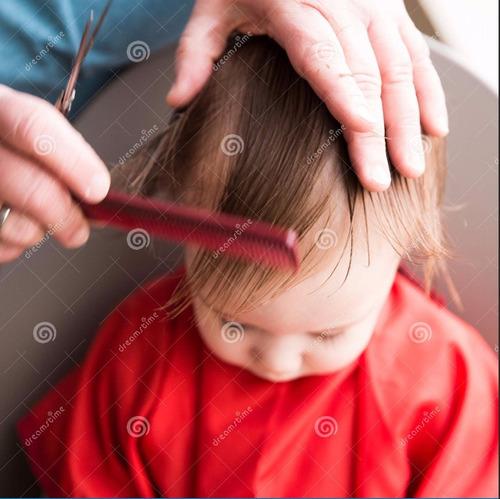 peluquero a domicilio unisex, niños, adultos.