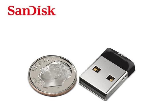 pen drive 16-gb sandisk original ultra nano micro cruzer fit  frete grátis