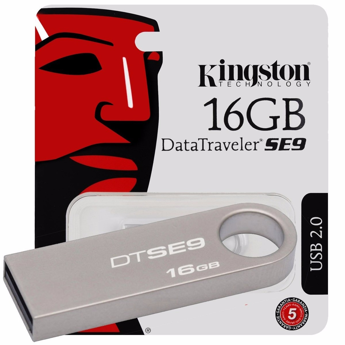 Pen drive datatraveler se9 16gb usb 2 0 prata kingston r for Daher motors kingston nh