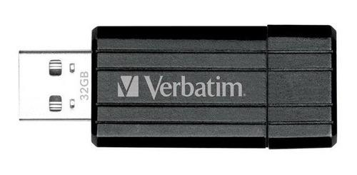 pen drive 32gb retractil colores verbatim 2.0 pinstripe