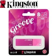 pen drive 8gb kingston 2.0 rosado original sellado blister