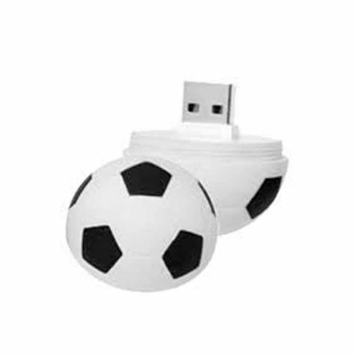 Pen Drive 8gb Personalizado Formato Bola De Futebol - R  34 3786e095e35f3