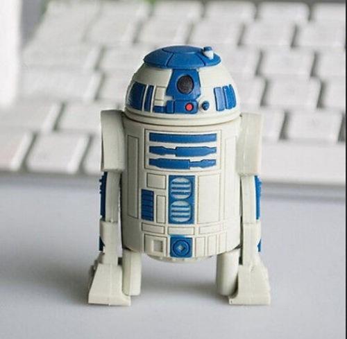 pen drive 8gb personalizado robo star wars - lançamento