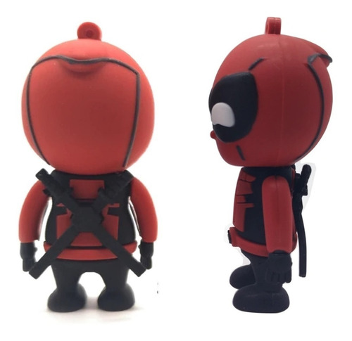 pen drive de 32gb personalizado marvel deadpool anti heroi