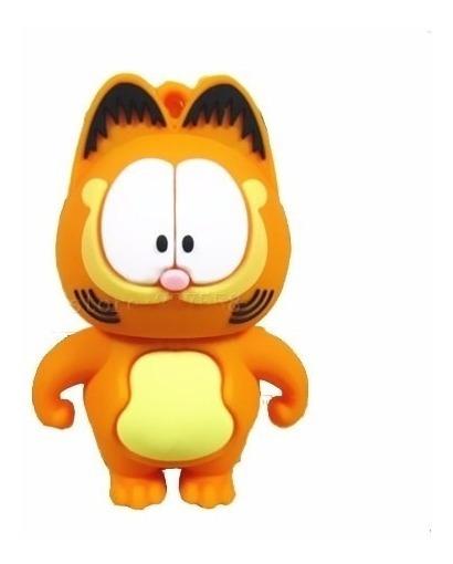 Pen Drive Garfield Gato Fox Filme Desenho Animado Boneco 8gb R