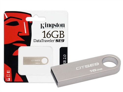 pen drive kingston 16gb usb2.0 data traveler dtse9h/16gb