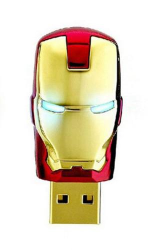 pen drive personagens homem de ferro - iron man 32gb