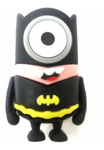 pen drive personagens minions super herói batman 16gb