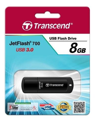 pen drive transcend 8gb jetflash 700 usb 3.0 pendrive