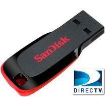 Pendrive 32gb Sandisk Usb Compatible Directv 100% Original