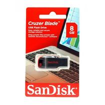 Pendrive 8gb Sandisk Cruzer Blade 100%originales En Oferta!