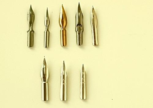 pena nankim caneta tinteiro 1 cabo 8 penas manga caligrafia