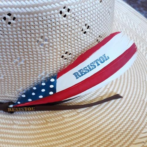 pena para chapéu resistol original importada - frete gratis