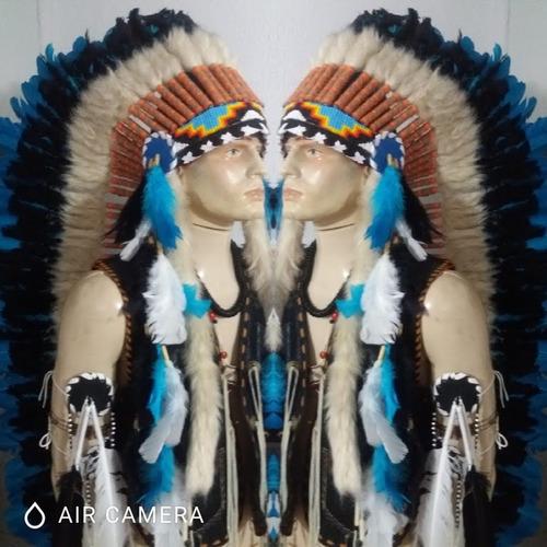 penacho indígena americano umbanda xamanismo caboclo