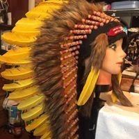 penachos indio americano super oferta grandes pluma de pavo
